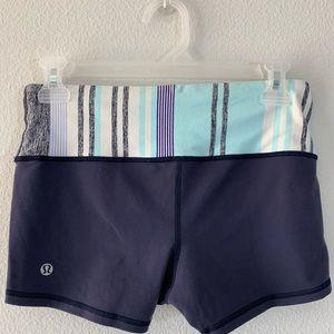Lulu high rise shorts